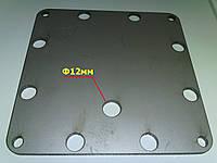 Боковая пластина электролизера 127х127х3мм AISI304
