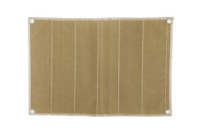 Patch Wall średni dla kolekcjonerów naszywek - tan [GFC Tactical], фото 2