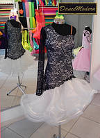 Платье для бальных танцев - латина (юниор) Vanille - guip-org
