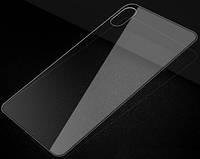 Защитное стекло for Apple iPhone XS back clear