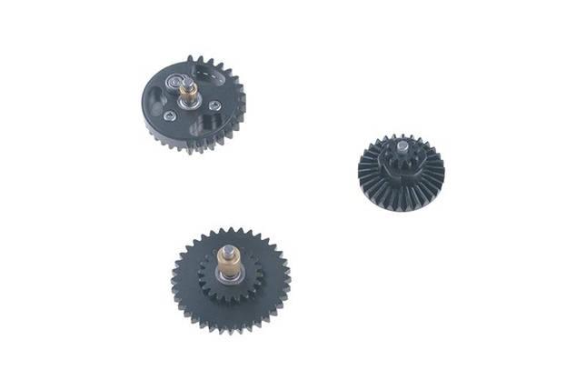 Komplet stalowych kół zębatych CNC 16:1 [Specna Arms], фото 2
