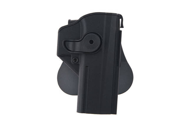 Кобура полимерная Level 2 do CZ P-09, Shadow 2 - black [IMI Defense], фото 2
