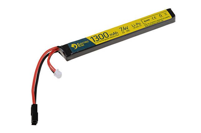Аккумулятор LiPo 7,4V 1300mAh 25/50C [ElectroRiver], фото 2