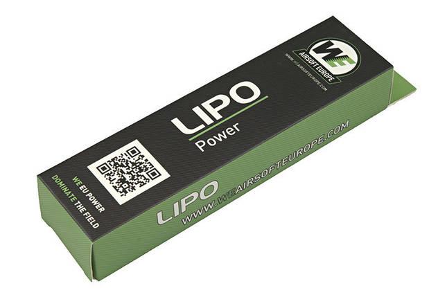 Аккумулятор LiPo 1300mAh 7.4V 20C - stick [Nuprol], фото 2