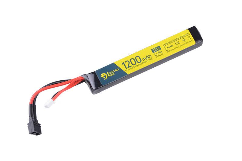 Аккумулятор LiPo 11,1V 1200mAh 15/30C T-connect (DEANS) [ElectroRiver]