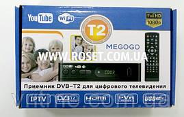 Цифровий приймач DVB-T2 T-13 Тюнер-приставка ресивер телевізійний