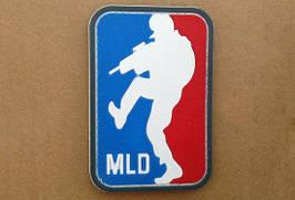 Нашивка 3D - MLD [GFC Tactical] (для страйкбола)