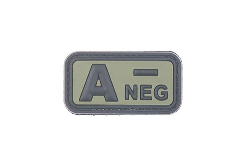 Нашивка 3D - A NEG [GFC Tactical] (для страйкбола)