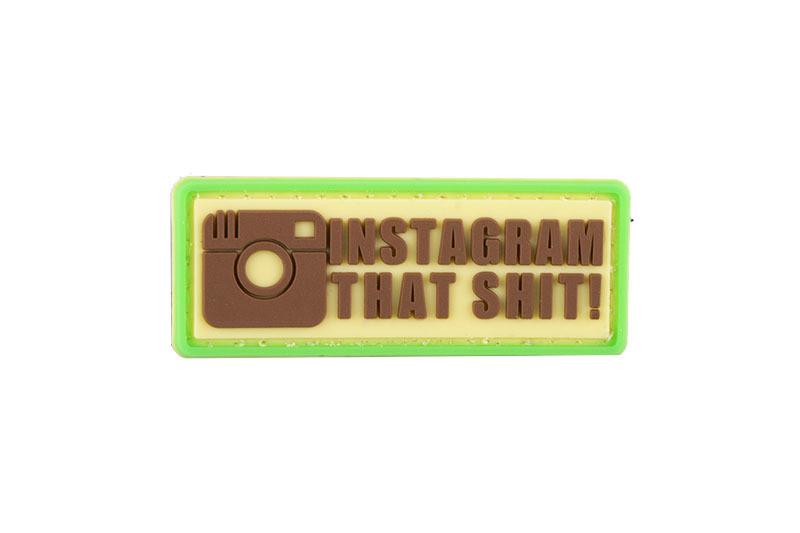 Нашивка 3D - Instagram That Shit [GFC Tactical] (для страйкбола)