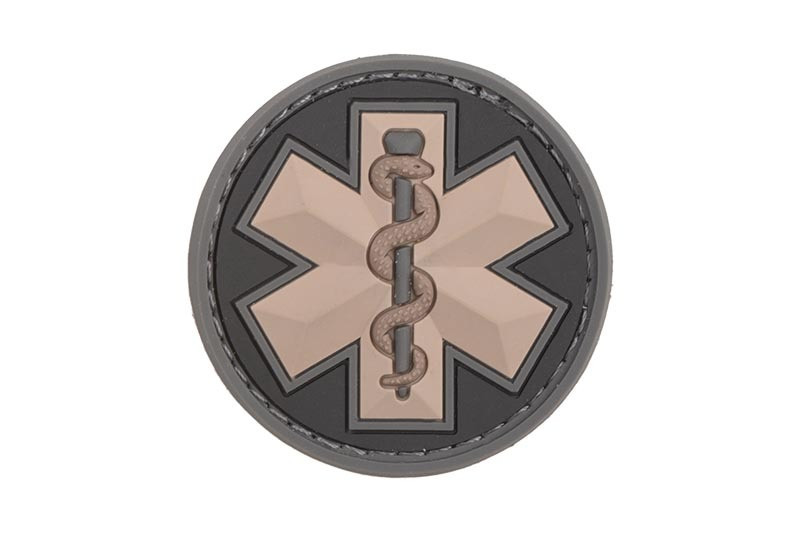 Нашивка EMT Star PVC - SWAT [MIL-SPEC MONKEY] (для страйкбола)