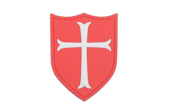 Нашивка 3D - Crusaders Cross [GFC Tactical] (для страйкбола), фото 2