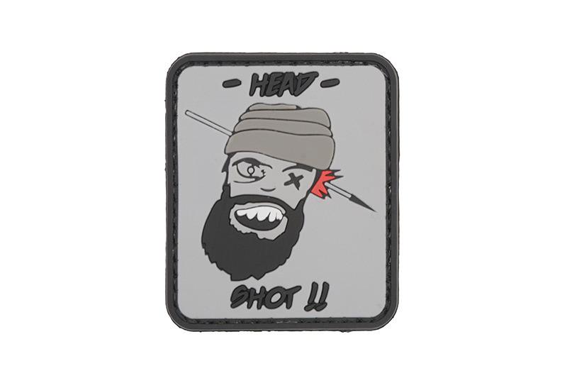 Нашивка 3D - Head Shot [GFC Tactical] (для страйкбола)