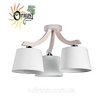 Потолочный светильник ORNUS OS-1974315LW Ecoline дерево/ткань