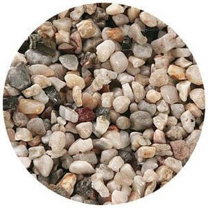 Грунт-натуральный речной гравий №3, 10кг, 6,0-15,0 мм