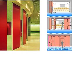 Мобильные Передвижные Стены для многофункциональных конференц залов гостиниц, ресторанов, офисов