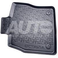 Коврики резиновые Skoda Octavia A7 2013- (к-т 4шт)