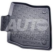 Килимки гумові Skoda Octavia A7 2013- (к-т 4шт)