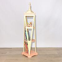 Стеллаж для книг и игрушек Freedom Tower (New York, USA), Натуральное дерево, Коллекция Mod