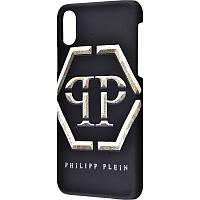 Чехол для iPhone X Philipp Plein эмблема