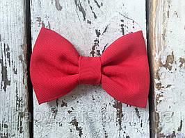 Детский галстук-бабочка, красного цвета
