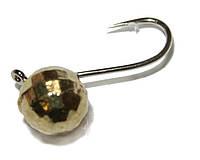 Мормышка вольфр Riga шар граненый с пет 5мм золото 1.18г №14 104050-03