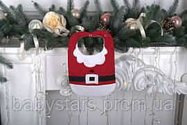 "Слюнявчик ""Санта Клаус"""