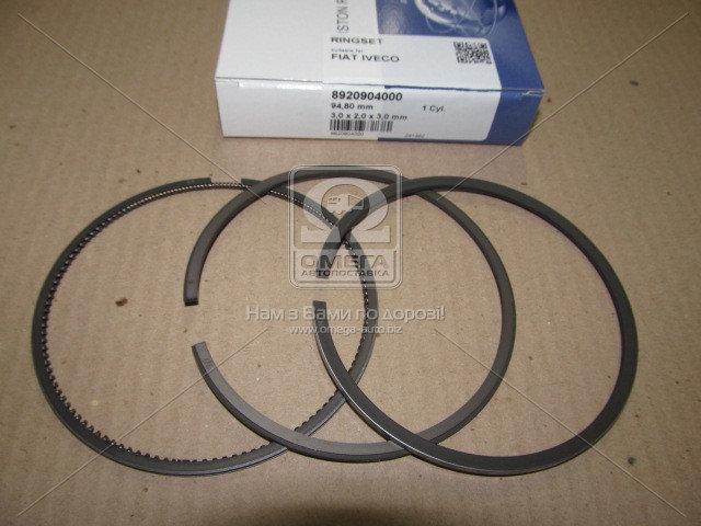 Кільця поршневі FIAT 2,8 TD 94,80 3,0 х 2,0 х 3,0 mm (пр-во NPR), 9-2090-40
