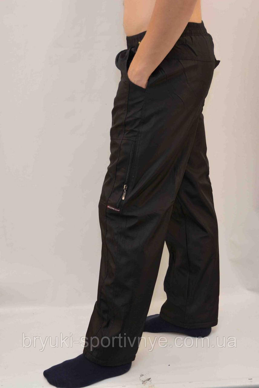 Брюки мужские зимние - плащевка на флисовой подкладке