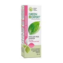 Крем для лица дневной для сухой и чувствительной кожи Green Expert 50 мл