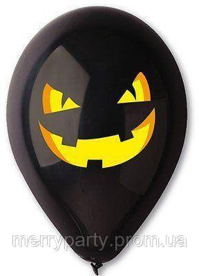 """12"""" (30 см) Хеллоуин тыква пастель черный Gemar Италия 2 стор."""