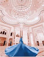 Картина по номерам Девушка в мечете Аль-Нур. Сергей Сухов