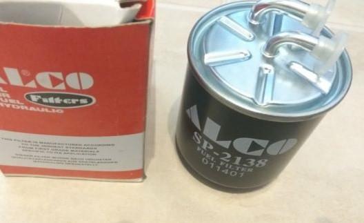 Фильтр очистки топлива Alco sp2138 для MITSUBISHI, SMART, MERCEDES-BENZ (DC), CHRYSLER.