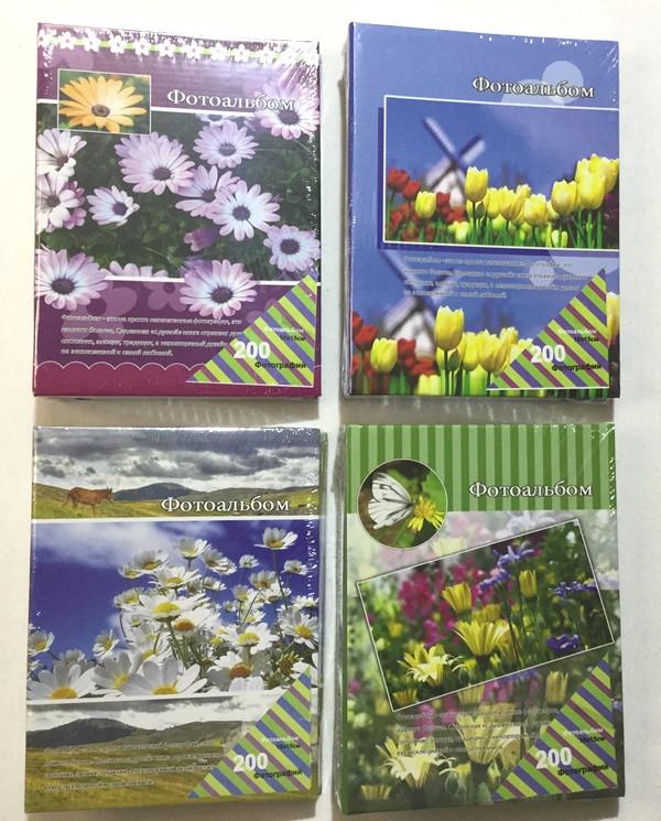 Фотоальбом на 200 фото Цветы (46200)