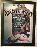 Картина трёхмерная Jack Daniels, фото 1