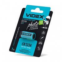 Батарейка литиевая Videx CR123A