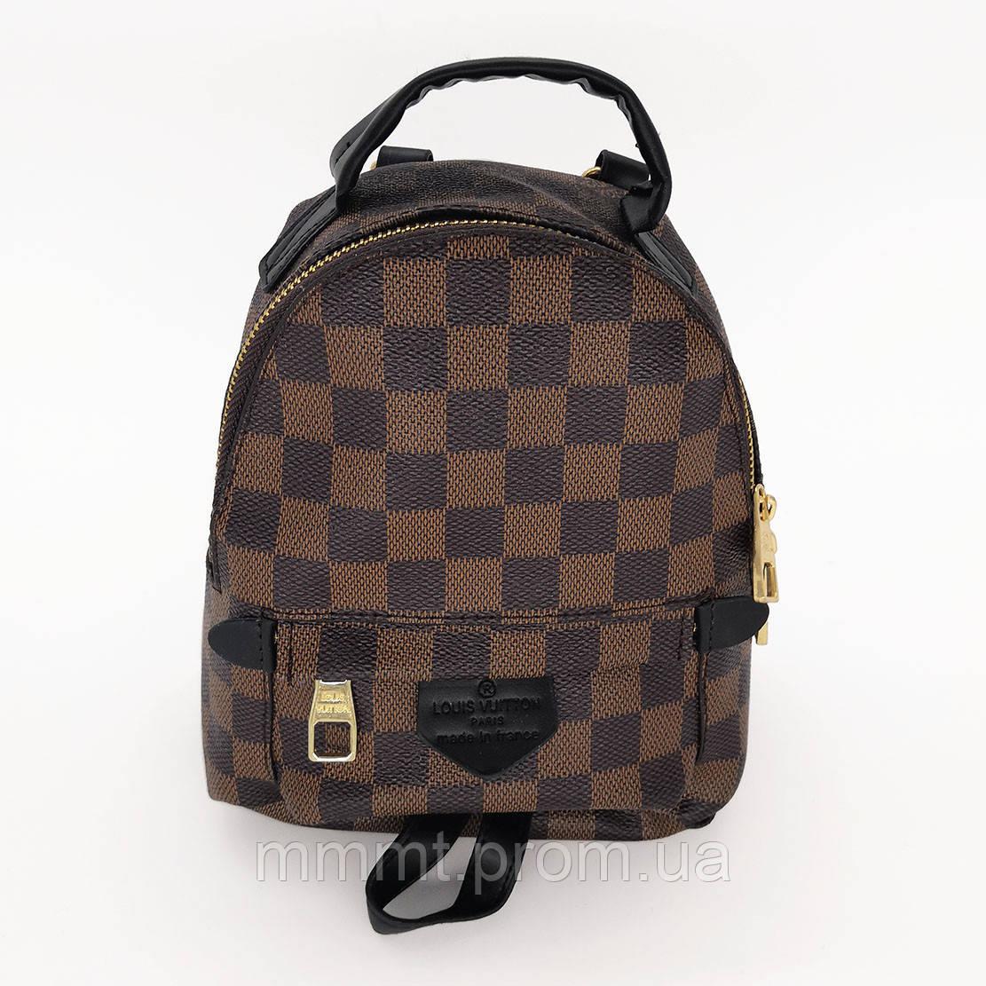 Рюкзак мини Louis Vuitton квадратики копия, цена 950 грн., купить в ... 217669c44b9