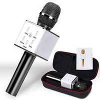 Микрофон BLEUTOOTH Q7 в чехле все цвета в наличии!