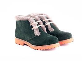 Ботинки Etor 5652-2298-0287 36 зеленые