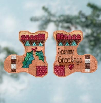 Набор для вышивки Seasons Greetings Mill Hill