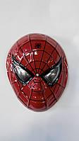 Маска детская Человек паук - пластик,3Д