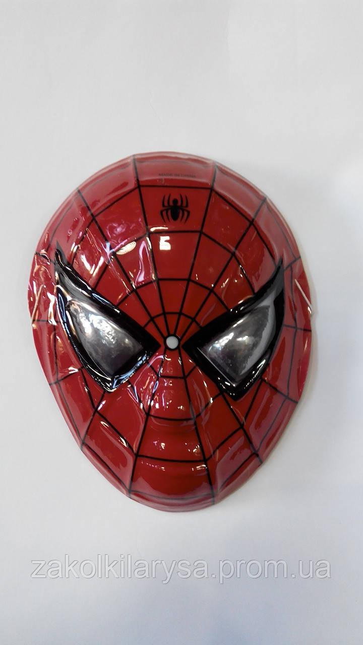 Маска детская Человек паук - пластик,3Д: продажа, цена в ...