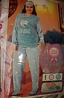 053f418fe621 Пижама детская/подростковая Pijamoni рост 104-172см Турция. Теплая женская  пижама
