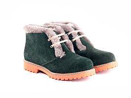 Ботинки Etor 5652-2298-0287 39 зеленые