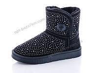 Угги женские QTYLL 8889 black (36-41) - купить оптом на 7км в одессе