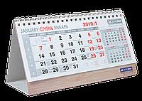 """Календарь 2019 настольный """"домик"""" 210х100мм, BM.2100"""