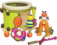 Музыкальная игрушка – ПАРАМ-ПАМ-ПАМ (8 инструментов, в барабане) (BX1007Z)