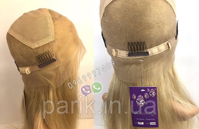 Парик блонд длинный фото сетки изнутри