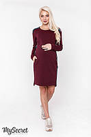 Нарядна сукня для вагітних та годуючих мам (Платье для беременных и кормящих мам) DANIELLE WARM DR-48.172