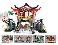 Конструктор Битва в Храме воскресения Ninja Heroes JVToy (16009)