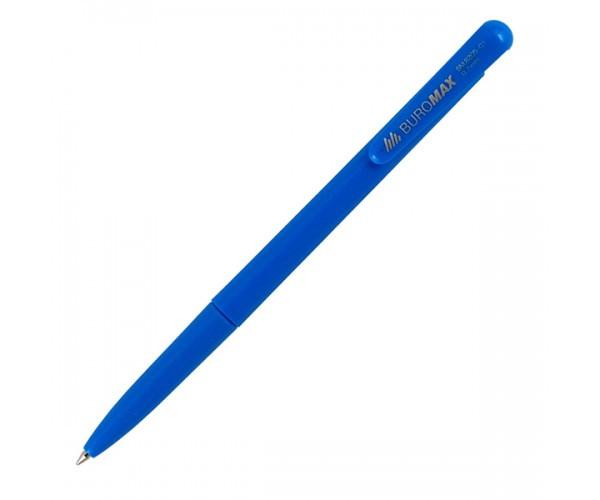 Ручка шариковая автоматическая, 0,7мм, пишет синим (Buromax)